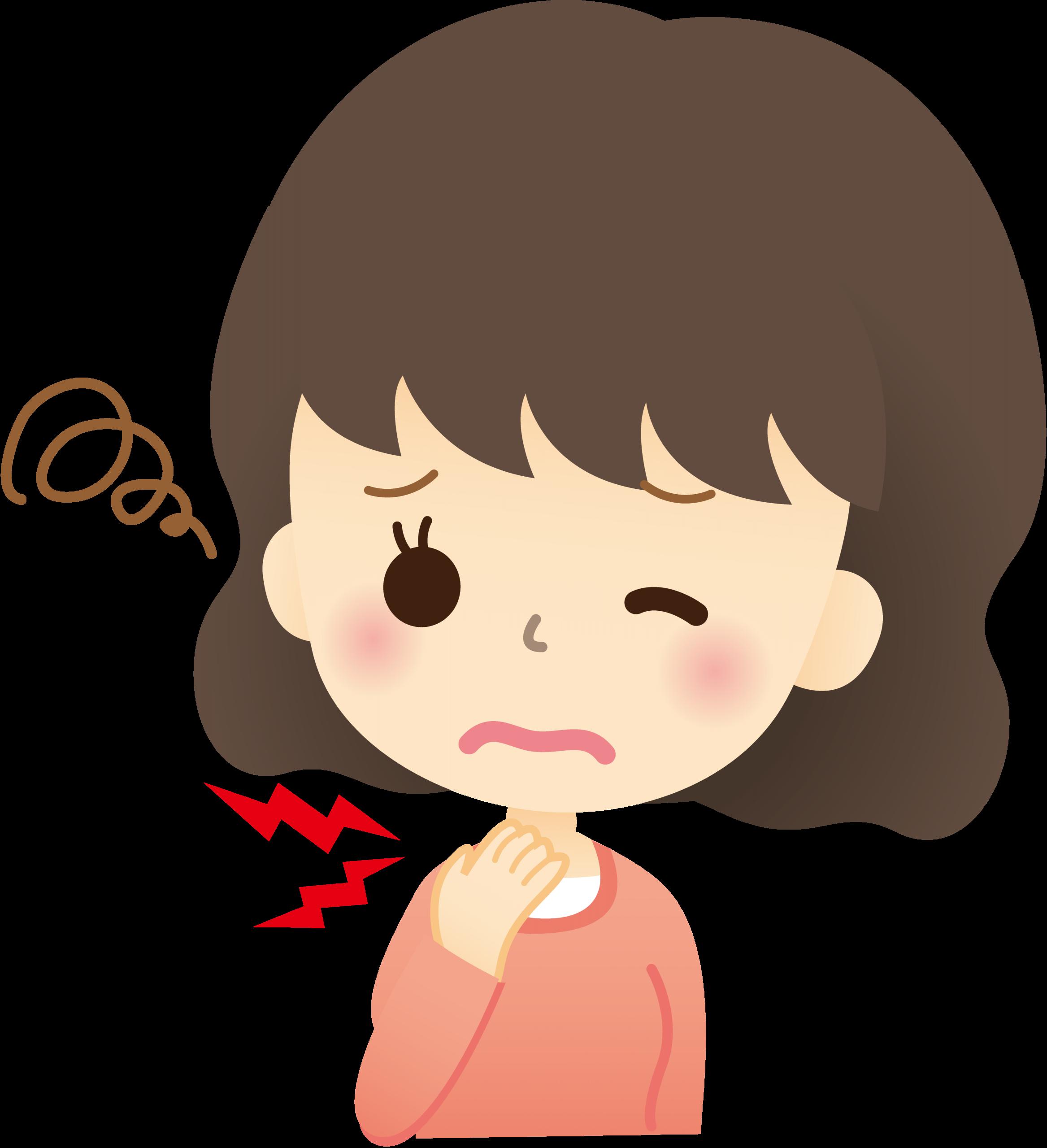の ない 治ら 喉 違和感